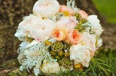 Stunning Soft Peach Ivory Sage Bridal Bouquet and Reception, Wedding Flowers Peach Peonies, Peonies Bouquet, Peony, Spring Wedding, Dream Wedding, Wedding Day, Sage Wedding, Wedding Dreams, Wedding Stuff