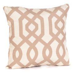Gatehill Taupe Pillow   Kirklands