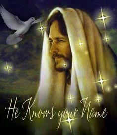 I've often thought about Jesus calling me by my name. Won't that be incredible to hear that some day?