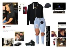 """""""Starr😈"""" by queen-imani ❤ liked on Polyvore featuring Polo Ralph Lauren, NIKE, Kate Spade, Mark & Graham, Mercedes-Benz, xO Design and KEEP ME"""