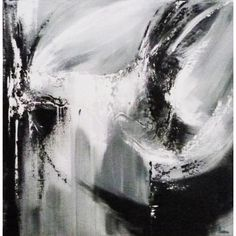 Blizzard, tableau de Louise LAROSE, art abstrait