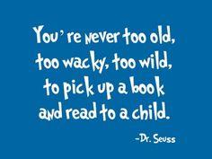 Wise words from Dr. Seuss!  www.petiteliterary.com