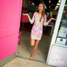 Lilly Pulitzer Pink Bee West End - Google+ Scuba to Cuba
