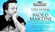 """HOLLYWOOD Dance Club (Bardolino """"Alta"""") <> Ven 15 Maggio <> Resident Djs PAOLO MARTINI <> Sab 16 Maggio <> I suoni Tronconi-Farina-Genna-Paso-Terry voice Cucci e live Zanella <> Servizio DISCOBUS da Merano-Bolzano-Trento-Rovereto-Ala/Avio-Riva dG-Lago di Garda-Verona <> Lista  ITALY  Aperta in Cassa Ogni Sera entro l'1.30 > Info - Cene - Tavoli - Trasporto 346.2255026  #StaffRosso #ItalyPresente  https://www.facebook.com/events/1421753364786339/"""