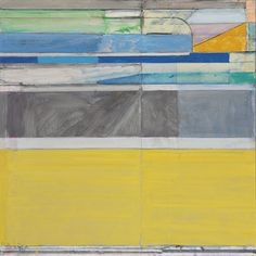 Richard Diebenkorn (1922-1993) 「 Ocean Park No. 117」  signed with initials and dated 'RD 79' (lower left); signed again, titled and dated again, 'R. DIEBENKORN OCEAN PARK #117-1979' (on the reverse) oil, graphite and charcoal on canvas  45 x 45 in. (114.3 x 114.3 cm.)  Painted in 1979.  Estimate : 4,000,000 - 6,000,000USD