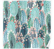 Cacti Pattern Desktop Wallpaper Designlovefest Wallpaper
