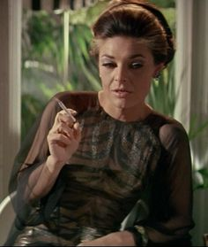Mrs. Robinson (Anne Bancroft) - The Graduate (to see more, click the pic)