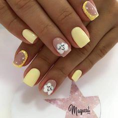 Nailart, Nail Spa, Instagram, Beauty, Inspiration, Enamels, Nail Designs, Polish Nails, Short Nail Manicure