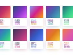 Gradients [Freebie] Hey guys, My previous freebie about gradients has been a huge success! It was used for several apps and tons of sites so thank you all for using it! :) Recently I clean up my global colours in Sk. Palette Pastel, Flat Color Palette, Palette Diy, Design Palette, Web Design, Graphic Design Trends, Graphic Design Inspiration, Color Patterns, Color Schemes