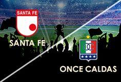 APUESTAS ABIERTAS  LIGA COLOMBIANA DOMINGO 06 DE SEPTIEMBRE Santafe Vs Once Caldas  www.hispanofutbol.com