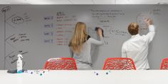 IdeaPaint beats all other whiteboard paints hands-down for ease of erasing and durability.