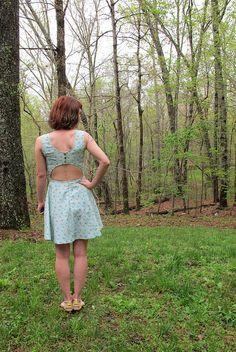 McCall 6887 - Pineapple dress!