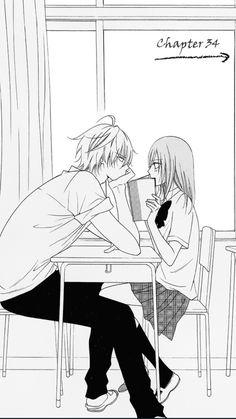 Warum gibt es sowas bei mir an der schule nicht? *traurig seufz* - Ach ja… Warum gibt es sowas bei mir an der schule nicht? Couple Manga, Anime Love Couple, Cute Anime Couples, Anime Couples Hugging, Romantic Anime Couples, Anime Kunst, Anime Art, Kawaii Anime, Sweet Pictures
