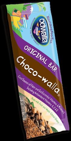 Odwalla Choco-Walla Bar | Food Bars & Energy Bars