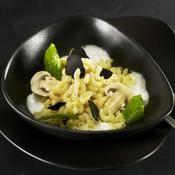 Coquillettes en risotto par Jean-Pierre Vigato - une recette Italien - Cuisine