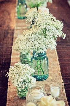 50 Creative Ways To Use Mason Jars On Your Big Day | HappyWedd.com