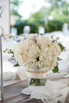 Romantic Wedding Centrepieces