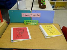 Learning and Teaching With Preschoolers: Daily Child Sign-In