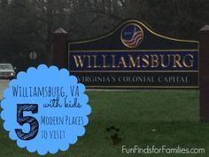 Williamsburg with Kids: 5 Modern Places to Visit - Family Travel - Fun Finds For Families