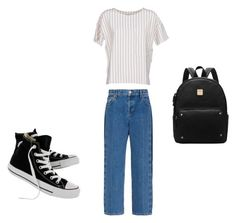 """""""lazy girl"""" by reyesjoseluisb ❤ liked on Polyvore featuring BELLEROSE, Balenciaga and Converse"""