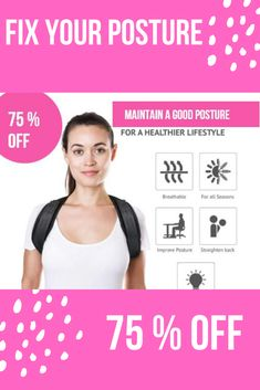 The Best Posture Corrector For Men and Women! The Top Posture A Back Brace For Posture and Mind. Our Zeowo Back Posture Corrector heals your back problems and your depression. Our Zeowo Posture Corrector is made of custom cushioning. Back Brace For Posture, Fix Bad Posture, Better Posture, Good Posture, Improve Posture, Shoulder Posture Corrector, Posture Corrector For Men, Shoulder Support Brace, Posture Support