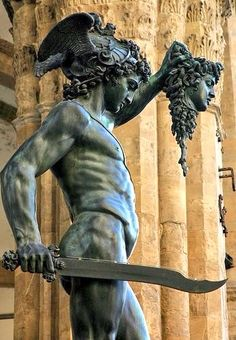 Perseus with the Head of Medusa - Cellini, 1545