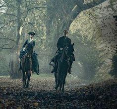 New still of Jamie and Geneva in Outlander Season 3.  [via outlandercommunity]
