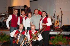 Die Edelseer und Agentur Starmaker zusammen mit GF Otmar Juen, Rastland Nassereith