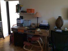 new desk! Crate & Barrel