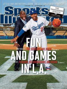 COVERED: Magic Johnson and Matt Kemp grace Sports Illustrated