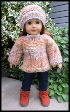 American Girl Doll Gotz Madame Alexander and by AUSSIEKNITWIT, $25.00