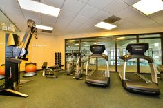Crowne Plaza Dulles Airport fitness center #workout #fitness #dulles #herndon #northernvirginia