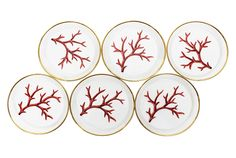 Porcelain in Madrid: Crockery, Cutlery, Table Linen, Glassware. Wedding List, Table Linens, Summer Fun, Pattern Design, Decorative Plates, Shells, Table Settings, Tableware, Painted Porcelain