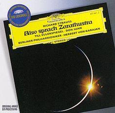 R. STRAUSS Also sprach Zarathustra - Karajan - Deutsche Grammophon