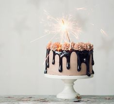 Birthday Cake Sparklers, Birthday Cake With Candles, Cosmopolitan, Rainbow Balloon Arch, Sparkler Candles, Happy Birthday Images, Party, Desserts, Clip Art