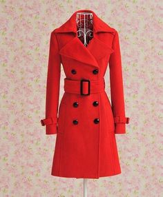 Women Girls Lady Female: wool coat Material: 100% Cotton Clothing Length: Regular size: S M L XL time: autumn and winter MORE 1: autumn winter Women MORE 2: col