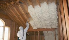 Sprayed foam insulation is works in a similar way with liquid foam being poured or injected into place into wall cavities making it very versatile.