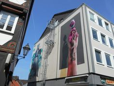 Street Art Meile.
