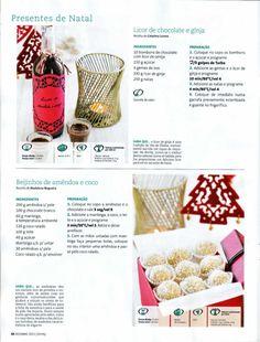 Revista bimby pt-s02-0013 - dezembro 2011 I Companion, Diy And Crafts, Goodies, Veggies, Food And Drink, Menu, Sweets, Bread, Healthy Recipes