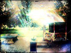 Little wooden shack in a park. Capelle, Rotterdam. photo : Jeroen Figee 2013