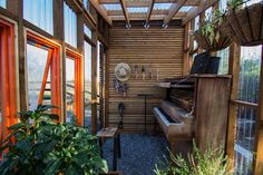 Love! Like! Share! 2611: Green house and fire pit