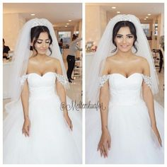 """Another gorgeous Bridal styling at our salon Holywood Romantic Updo #Hennanight #BeautyParadise @ummudogabeautysalon ✨ ❤️ Hair by me…"""