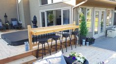 Cedar Deck, Outdoor Decor, Home Decor, Homemade Home Decor, Interior Design, Home Interiors, Decoration Home, Home Decoration, Home Improvement
