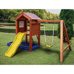 $350 at Kmart; like the small compact design--would like to try to build myself and add a second swing