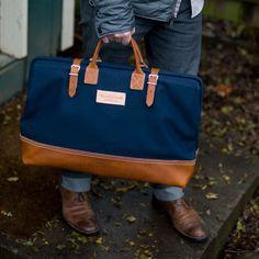 Carpenter's Bag / Wood and Faulk Weekender bag Men's Totes, Boston Bag, Sharp Dressed Man, New Bag, Gifts For Husband, My Guy, Swagg, Luggage Bags, Men Dress