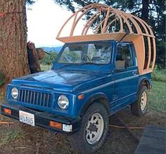The Flying Tortoise: Jay Nelson's Very Cute, Very Tiny, Copper Clad Suzuki Camper...