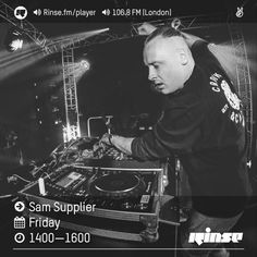 Rinse FM Podcast - Sam Supplier - 9th September 2016 by Rinse FM on SoundCloud