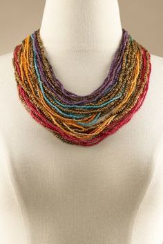 Layers of Colors Necklace from Soft Surroundings