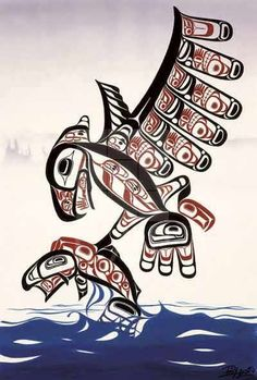 Canadian Aboriginal artist Bill Helin (Gits'iis).