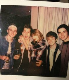 Taylor Swift with The Vamps and Mason Cutler Vamps Band, The Vamps, Taylor Swift Red Tour, Taylor Alison Swift, Selena Gomez, Bradley Simpson, Barbie, Taylor Swift Pictures, Her Music